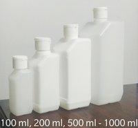 Slant Square Hand Sanitiser Bottle