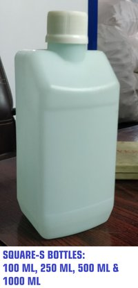 Slant Square Hand Sanitiser Bottle