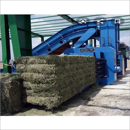 Continuous Biomass Baling System