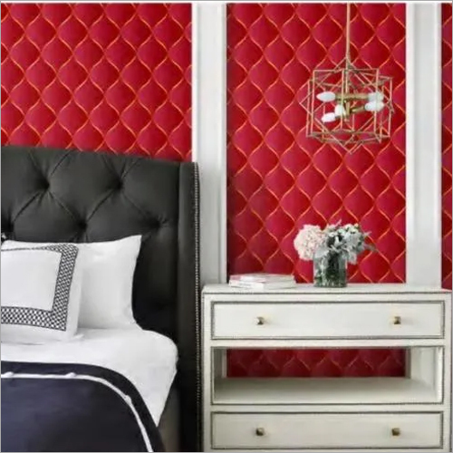 RED WALL PAPER