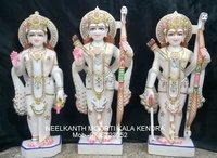 White Marble Ramdarbar Statue
