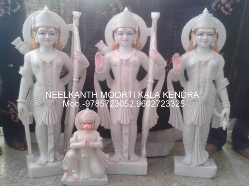 Lord Ramdarbar Marble Murti