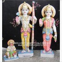 Ram Sita Hanuman God statue