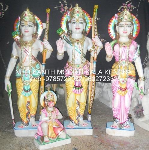 Marble Lord Ram Darbar Statues