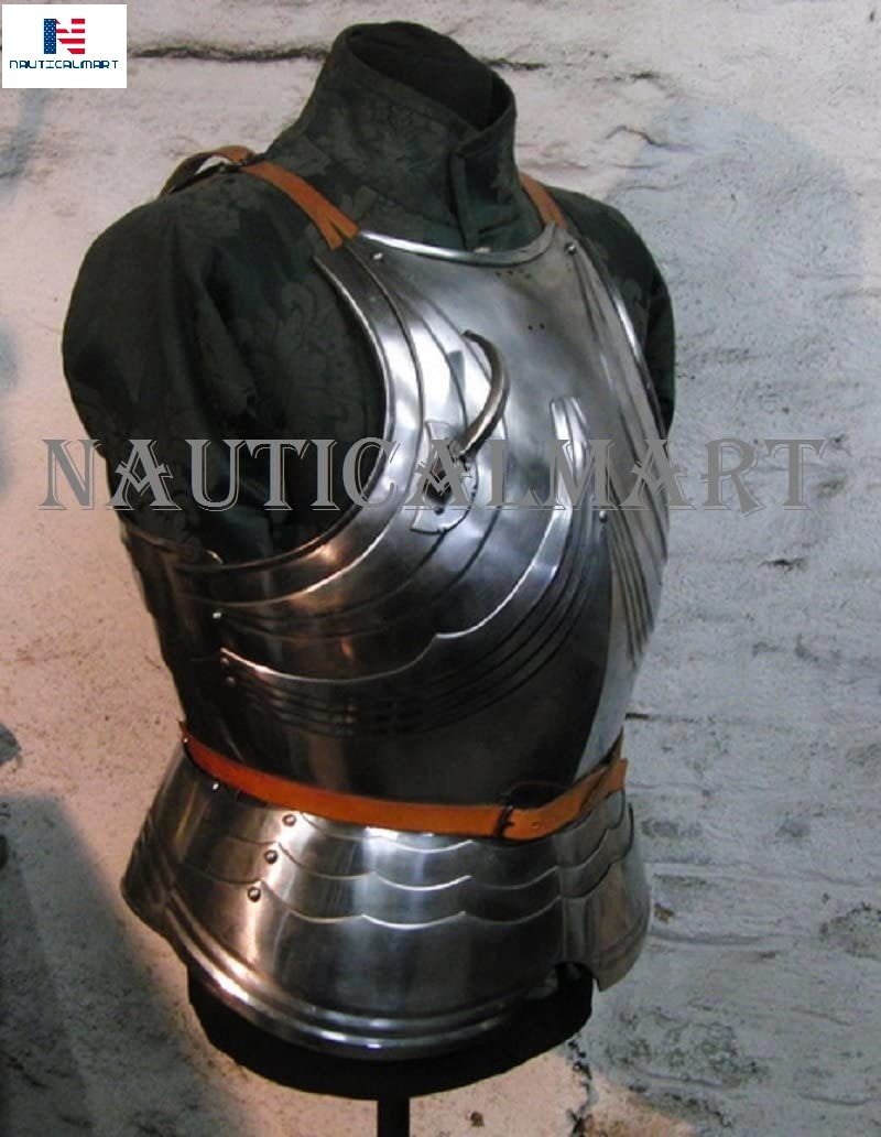 Nauticalmart Medieval Knight Reenactment Steel Armour Breastplate Halloween