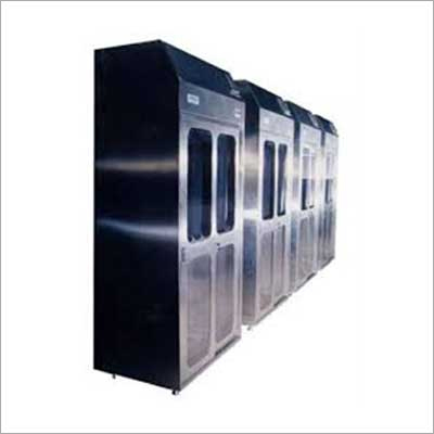 Steel Garment Cubicle
