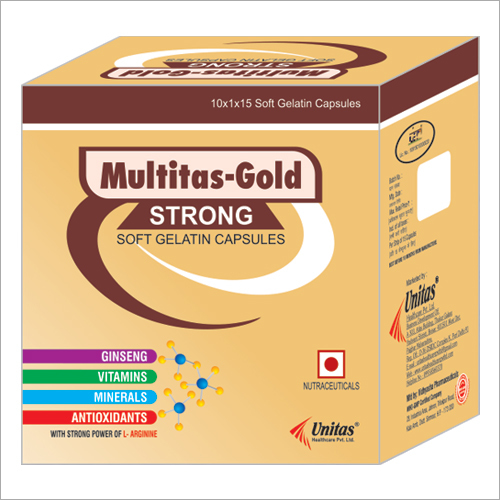 Ginseng Multivitamin and Multimineral Antioxidants Softgel Capsules
