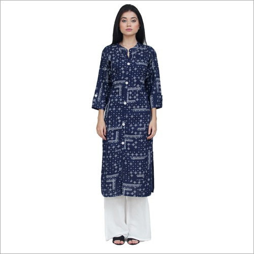 Ladies Kurta With Palazzo Set