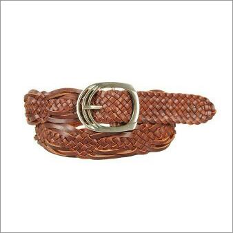 Genuine Leather Ladies Weaving Belt