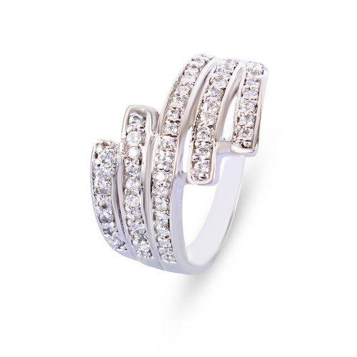 Studded 92.5 Silver Ring