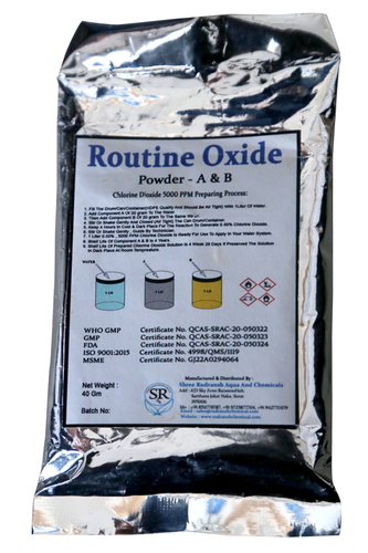 Routine Oxide Chlorine Dioxide