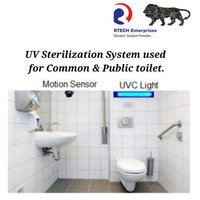 UV Sterilization system For TOILET