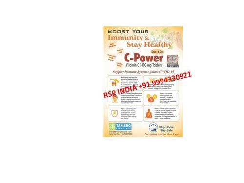 C-power Vitamin C 1000mg Tablets