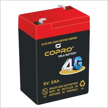 Copro 4G 6V 5Ah VRLA Battery