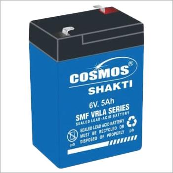 SMF VRLA Series 6V 5Ah Sealed Lead Acid Battery