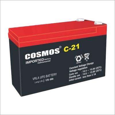 Cosmos C-21 12V 8Ah VRLA UPS Battery