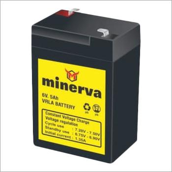 Minerva 6V 5Ah VRLA Battery