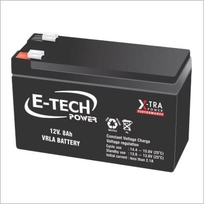 E-Tech Power 12V 8Ah VRLA Battery