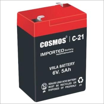 Cosmos C-21 6V 5Ah VRLA Battery