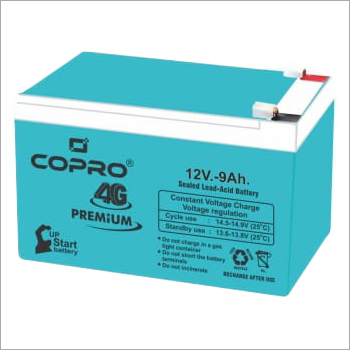 Copro 4G Premium 12V 9Ah Sealed Lead Acid Battery