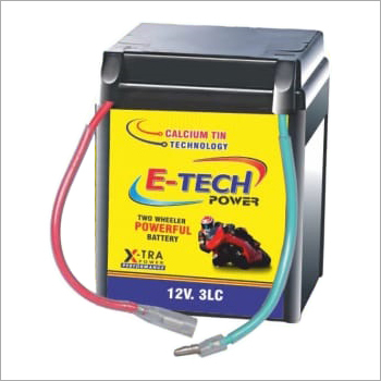 E-Tech 3LC Two Wheeler Battery