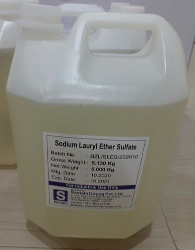 SLES Sodium Lauryl Ethyl Sulphate