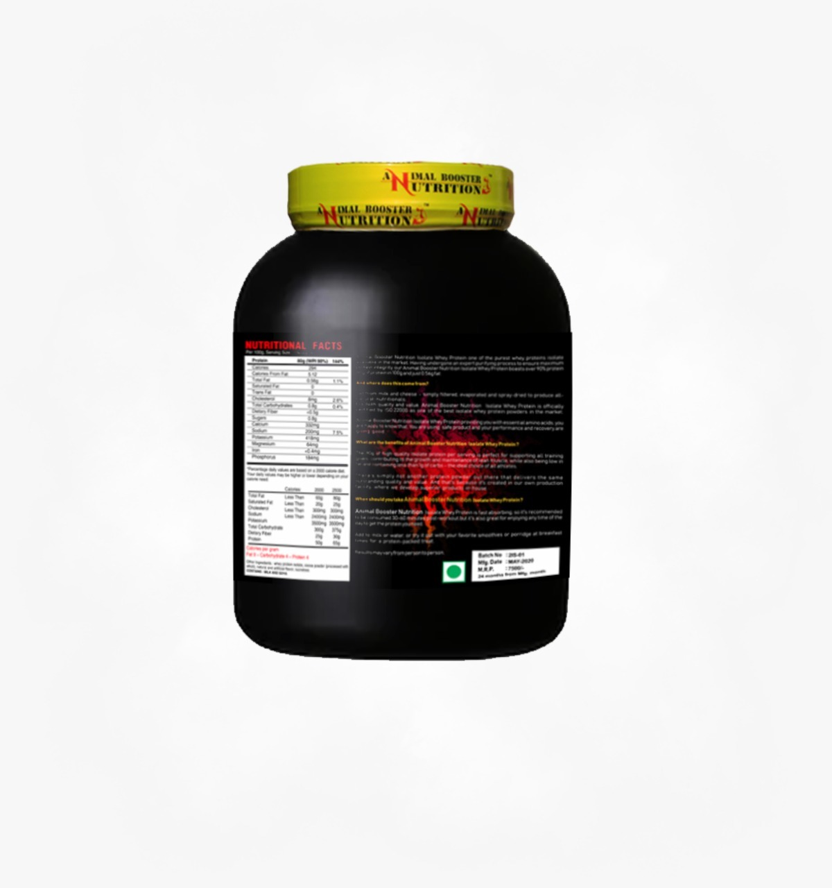 Serious Whey Isolate