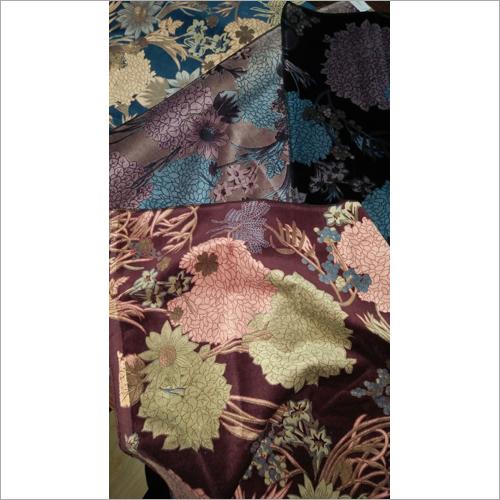 Cotton Velveteen Printed Velvet