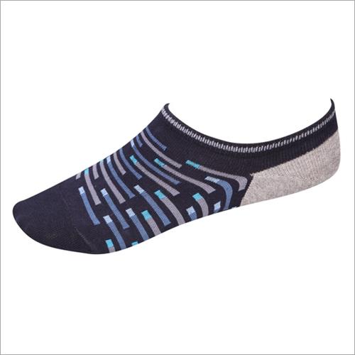 Mens Cotton Lycra Loafer Socks