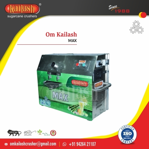 Sugarcane Juice Machine Portable Heavy Om Kailash MAX