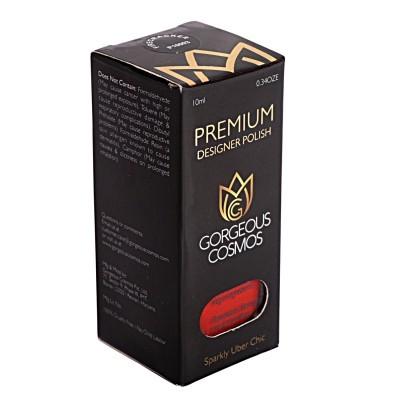 10 ml Premium - (Red Color) Fire Craker Shade Toxic Free Nail Polish