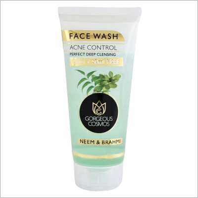 200 Ml Gorgeous Cosmos Neem & Brahmi Acne Control Perfect Deep Cleansing Face Wash