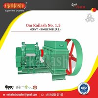 Sugarcane crusher machine for jaggery plant