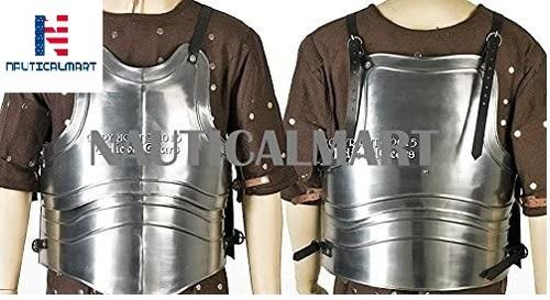 Breastplate Nauticalmart 18 Gauge Steel Body Armor Breast Plate