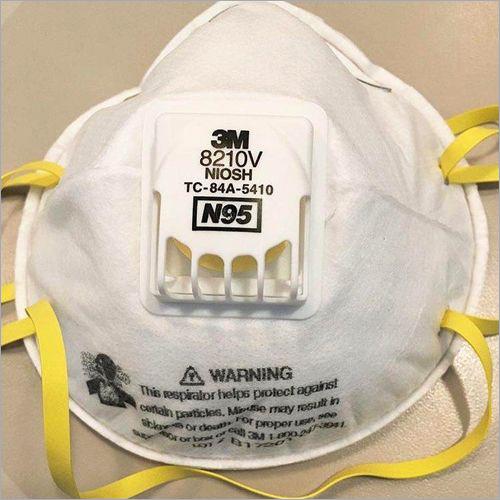 3M 8210 V NIOSH Face Mask