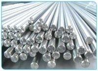 Silver titanium round bar