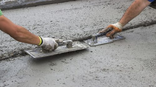 Concrete Finishing Aid