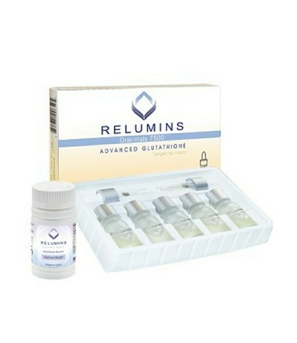 RELUMINS 7500MG ADVANCED ORAL GLUTATHIONE INJECTIONS