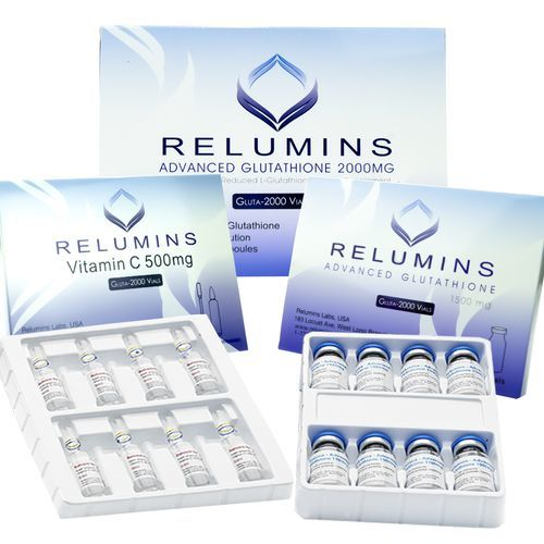 RELUMINS ADVANCED GLUTATHIONE 2000MG INJECTIONS