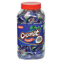 Coconut Candy Jar