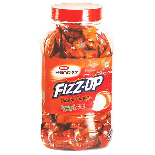 Mahak Kandiez Fizz-Up Orange Candy (160 pcs)