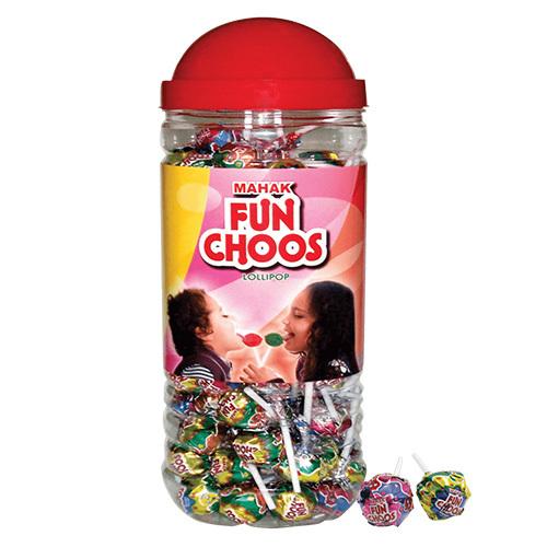Mahak Kandiez- Funchoos Lollipop (105 Pcs)