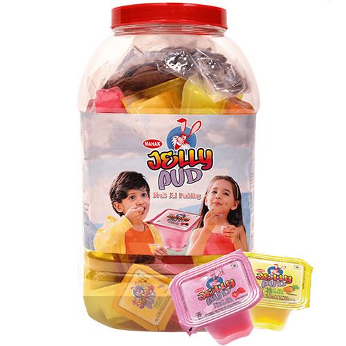 Mahak Kandiez- Fruit Jel Filled Jelly Pud (60 Pcs)