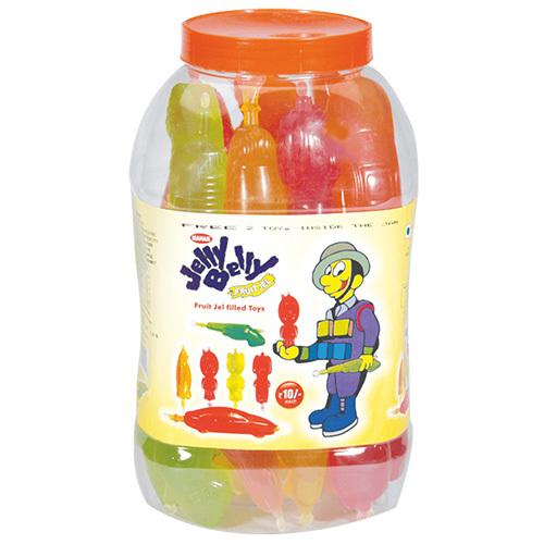 Mahak Kandiez- Fruit Jel Filled Big Toy (33 Pcs)