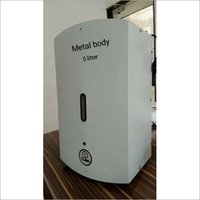 Automatic Hand Sanitizer Dispenser Metal Body 5 Litter