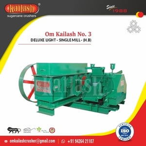 Jaggery Plant Machinery Sugarcane Crushers With Accessories And Mountings