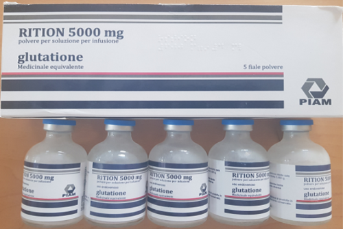 RITION 5000MG GLUTATHIONE INJECTIONS