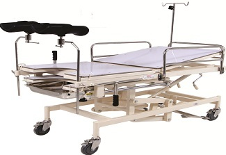 OBSTETRIC DELIVERY TABLES TELESCOPIC (ADJUSTABLE HEIGHT)