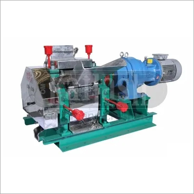 Stainless steel sugarcane crusher with planetary gear box & motor for jaggery plant