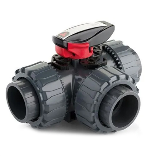 UPVC 3 WAY BALL VALVE